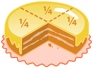 cake quarters