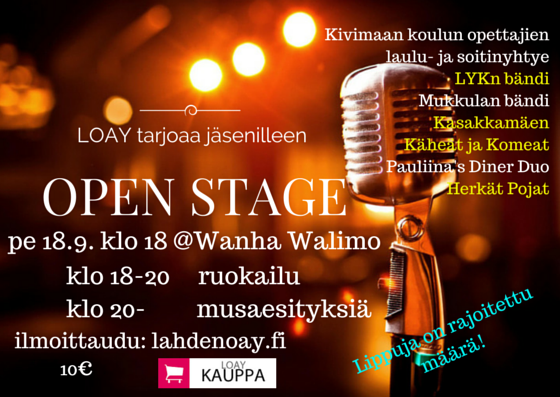 Open stage 2015