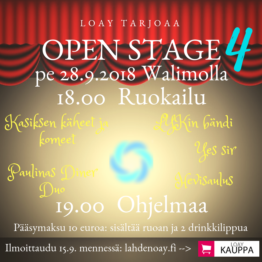 Open Stage 2018